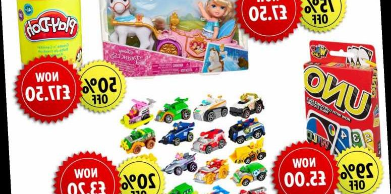 Tesco launches up to 75% off toy sale including Play Doh and Paw Patrol