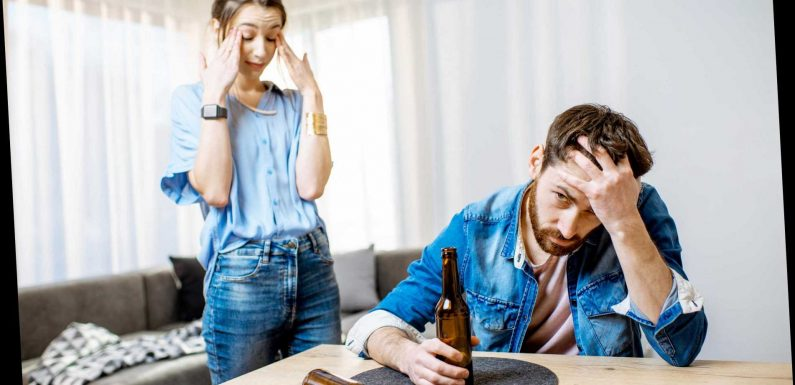 My partner drinks every evening and it causes me so much distress