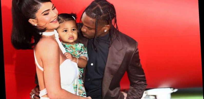 Travis Scott Hosts Toy Drive in Houston — and Kylie Jenner Captures Stormi 'Supporting Her Daddy'
