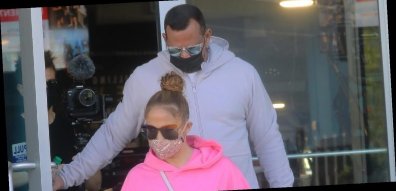 Jennifer Lopez & Alex Rodriguez Work Out in Miami Before Jetting to L.A.