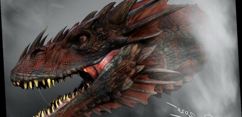 'House of the Dragon' Shares First Look at New Dragon