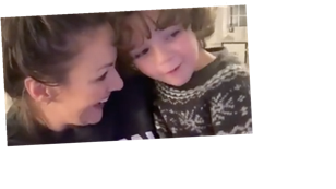 Martine McCutcheon shares adorable moment son Rafferty, 5, discovers she was on The Masked Singer