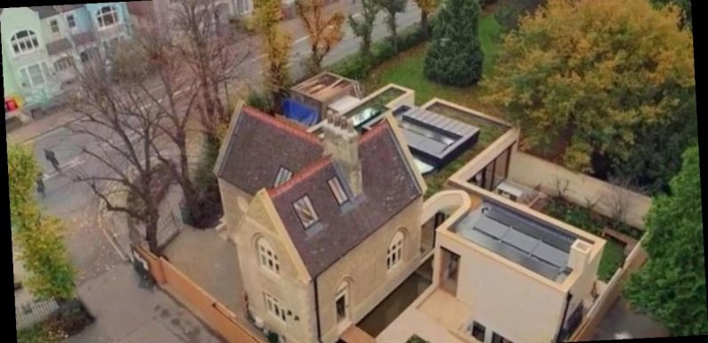 Grand Designs fans gobsmacked as dad turns toilet block into cemetery mansion