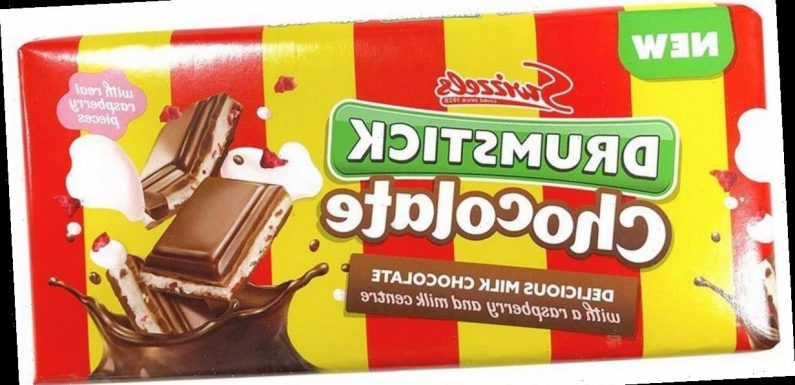 Drumstick chocolate baffles The Range shoppers as they ask if it's a joke
