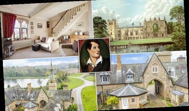 Cottage in grounds of Lord Byron's former home is for sale for £500k