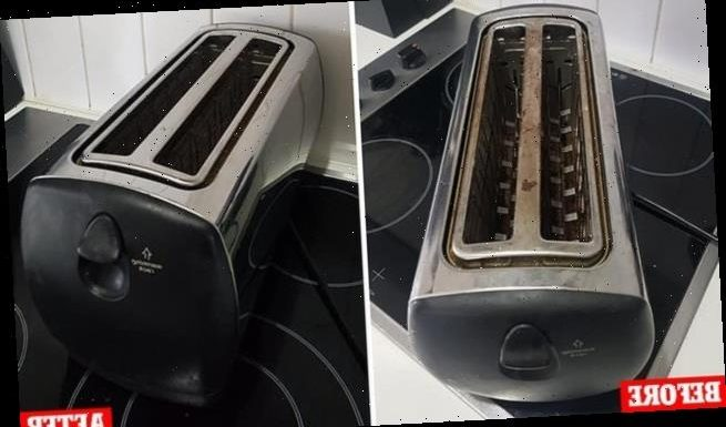Mum transformers her toaster using a $2 cleaning buy from Kmart
