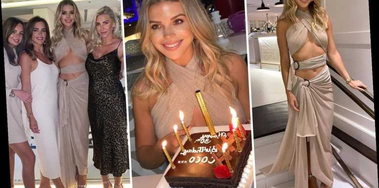 Towie's Chloe Lewis branded 'insensitive' for showing off lavish 30th birthday in Dubai with no social distancing