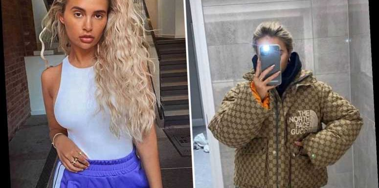 Love Island's Molly-Mae Hague proudly shows off £1,950 'chav chic' Gucci puffer jacket