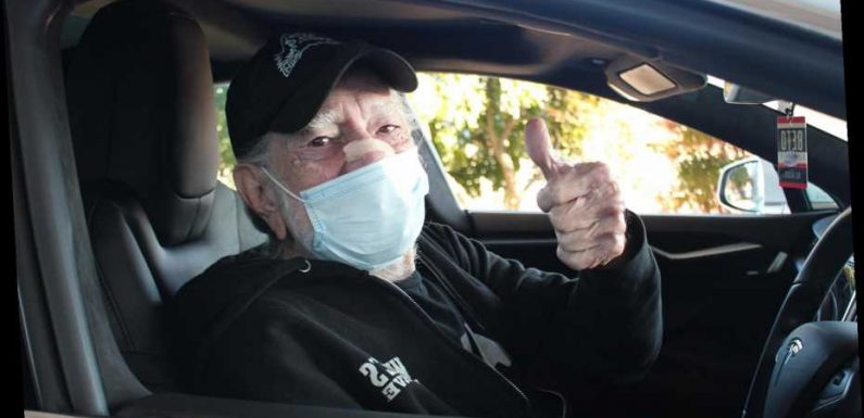 It's All Going to Shot: Willie Nelson Gets the Covid Vaccine