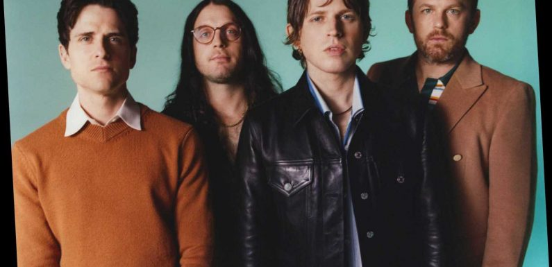 I might start weeping when we go on stage, says Kings Of Leon frontman