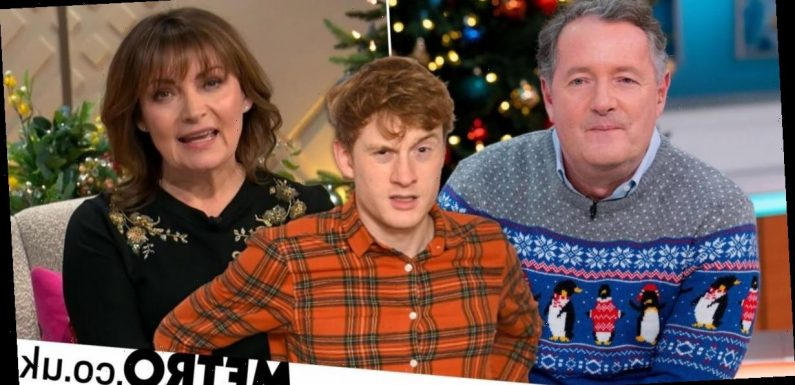 Lorraine Kelly blasted by James Acaster after picking Piers Morgan as 2020 hero