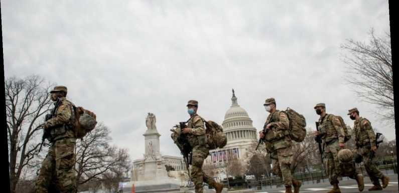 The FBI is vetting the 25,000 National Guardsmen in DC for terrorist ties
