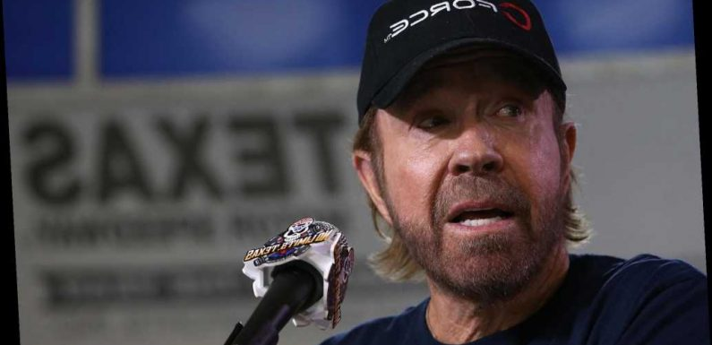 Chuck Norris trashes 'wannabe lookalike' snapped at US Capitol riots