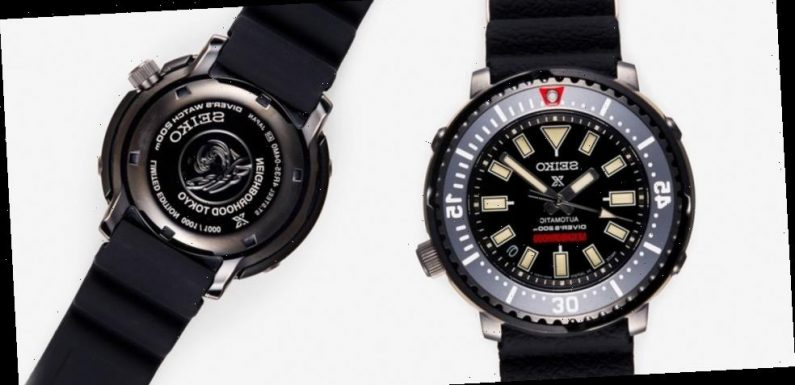 NEIGHBORHOOD's Upcoming Seiko Prospex Dive Watch Is Limited to Just 1,000 Pieces