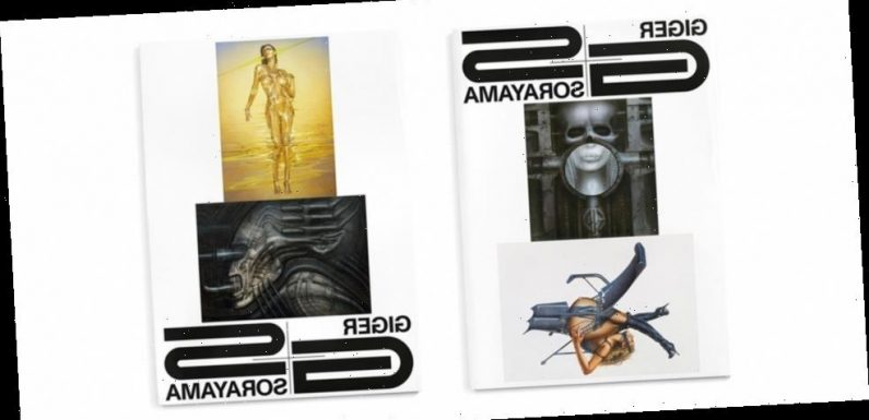 H.R. Giger and Hajime Sorayama's Works Honored in New Art Book