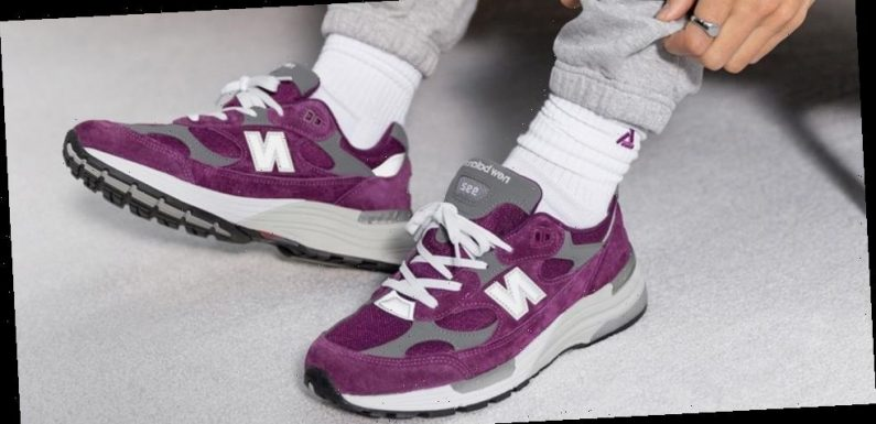 New Balance's 992 Given a Juicy Purple Makeover