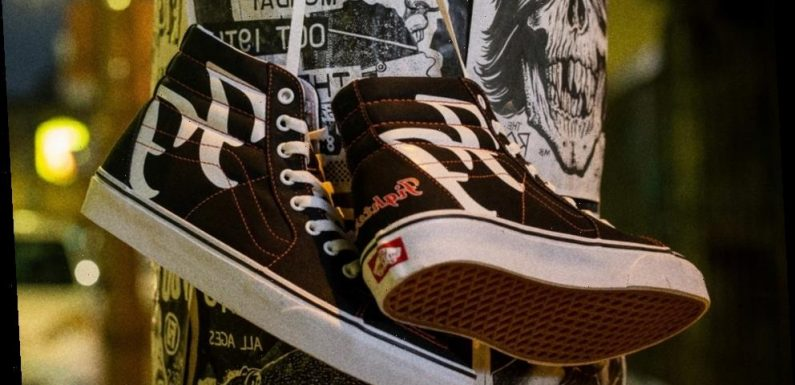 Foo Fighters Celebrate the 25th Anniversary of Their Debut Album With Vans Sk8-Hi Collaboration