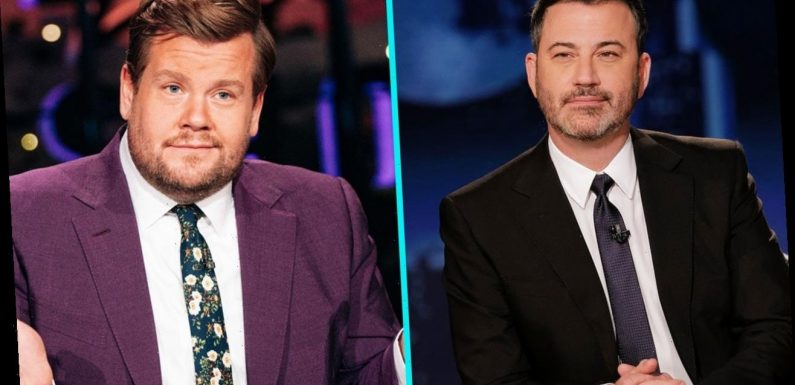 Jimmy Kimmel & James Corden Resume Remote Taping Amid COVID-19 Surge