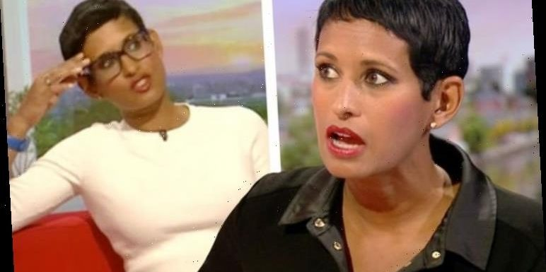 Naga Munchetty's co-star tells her 'now I know why you were fired' after she pokes fun