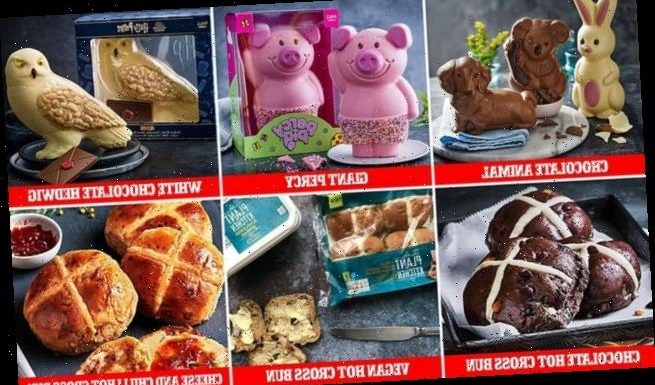 M&S delights fans with their Easter  range including a giant Percy Pig