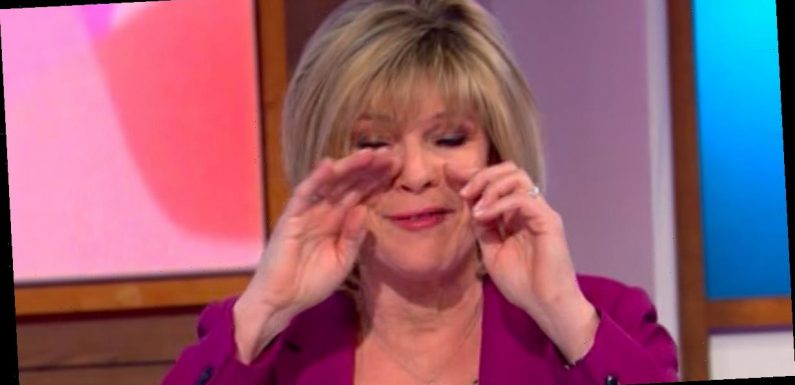 Loose Women Ruth Langsford in tears as she asks government for care home visits