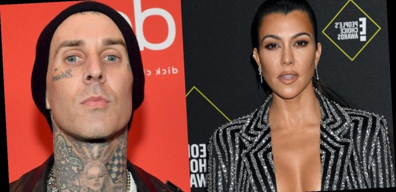Kourtney Kardashian's Love Letter To Travis Barker Has A Unique Line