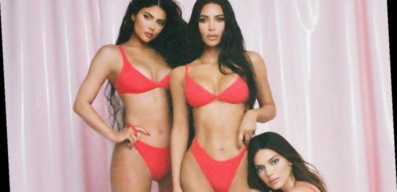 Kim Kardashian, Kylie and Kendall Jenner Model 'Sexiest' Skims Collection Yet