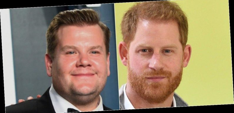 Prince Harry Spotted Filming With 'Late Late Show' Host James Corden