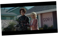 Timothée Chalamet Plays Son Of Edward Scissorhands In Super Bowl Ad