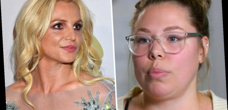 Teen Mom Kailyn Lowry defends singer Britney Spears on her podcast and calls her conservatorship an 'eerie mystery'