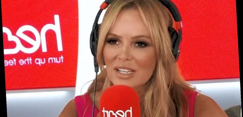 'Devastated' Amanda Holden takes week off radio show for half term after dodging fine for breaking Covid lockdown rules