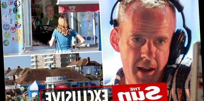 DJ Fatboy Slim swaps beats for treats at work in the beach cafe he owns