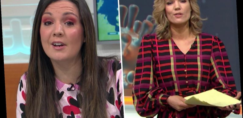 Good Morning Britain in chaos as technical blunder forces Laura Tobin to step in for Charlotte Hawkins