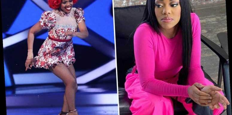 Dancing On Ice favourite Lady Leshurr claims she was 'manhandled' by 'racist' airport guard