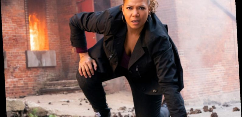 The Equalizer fans left open-mouthed as Queen Latifah beats up entire gang of men by herself