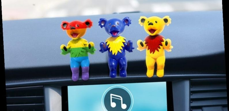Grateful Dead's Iconic Dancing Bears Inspire New Collection of Bobbleheads