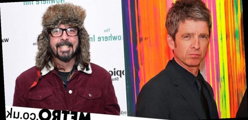 Noel Gallagher's infamous Dave Grohl insult unpacked by Taylor Hawkins