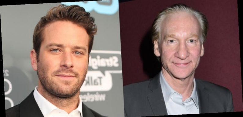 Bill Maher Defends Armie Hammer Amid Accusations