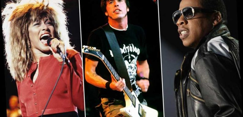 Rock Hall of Fame: Jay-Z, Foo Fighters, Iron Maiden, Tina Turner Lead Nominees