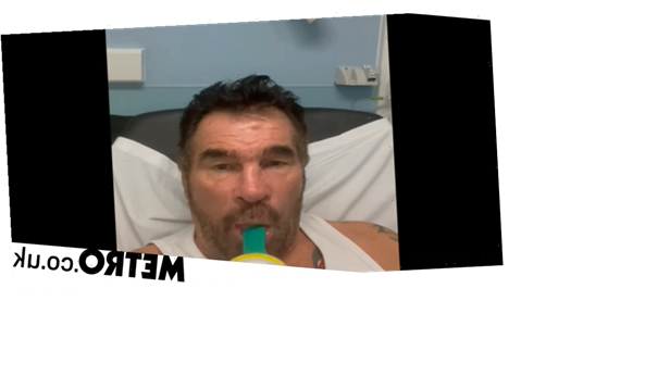 Paddy Doherty struggles to breath as he's rushed to hospital amid Covid battle