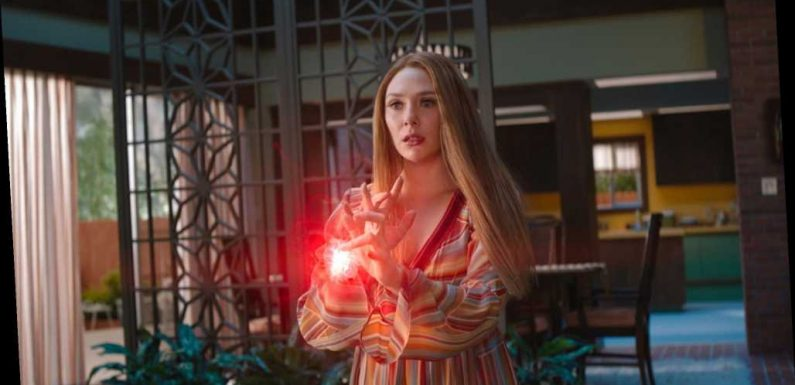 'WandaVision' Will Have a Cameo at the Level of Luke Skywalker in 'The Mandalorian,' According To Elizabeth Olsen