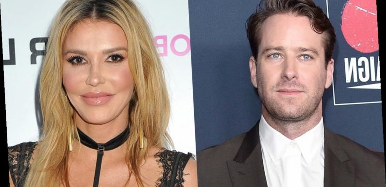 Brandi Glanville tweets about Armie Hammer eating her ribcage, tells haters to 'get some hobbies'