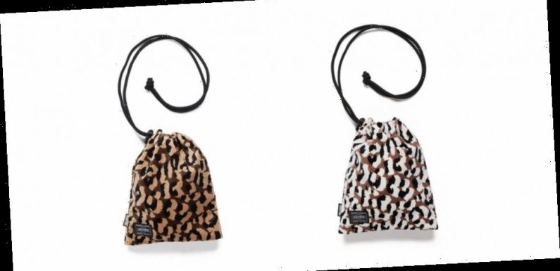 WACKO MARIA x PORTER Introduces Leopard Pouch Bags for SS21