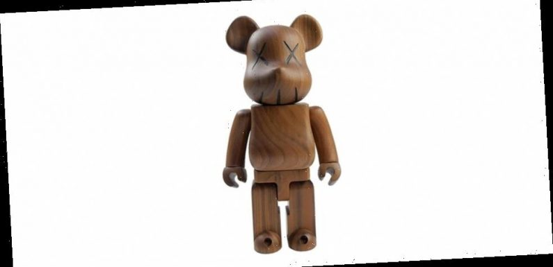 This Pre-Owned KAWS x Medicom Toy BE@RBRICK from 2005 is Currently Selling for $24,000 USD
