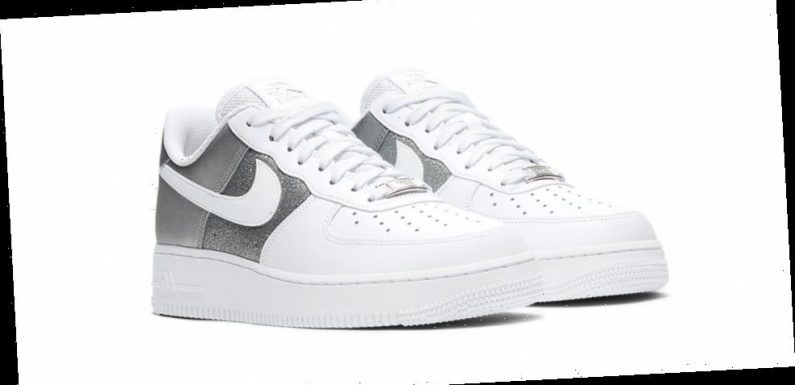 Nike Accessorizes the Air Force 1 Low With Metallic Silver Paneling