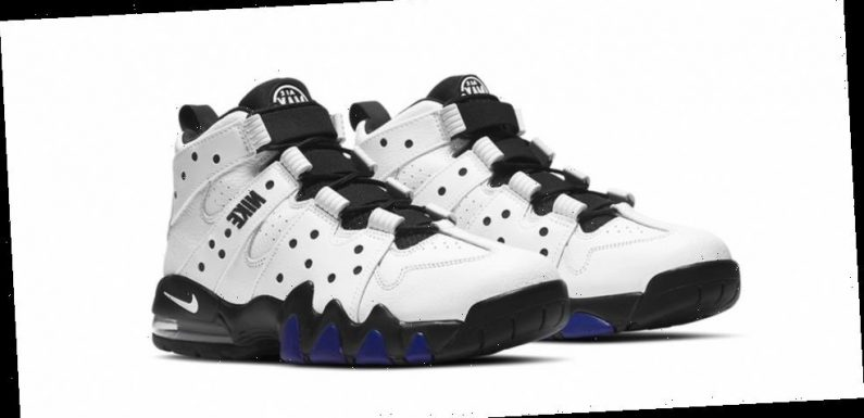 "Nike Air Max CB 94 is Returning in OG ""White/Varsity Purple"" Colorway"