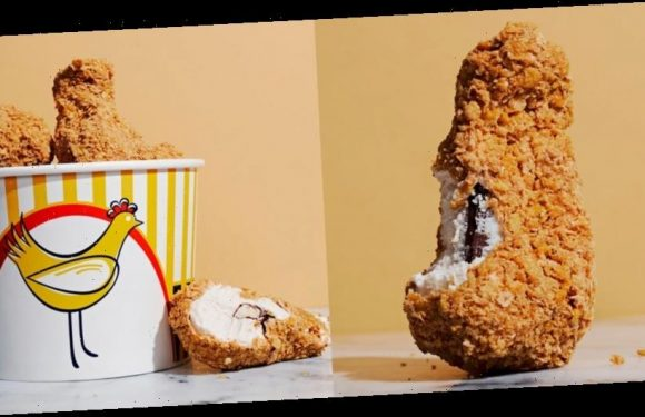 This Fried Chicken is Actually Ice Cream
