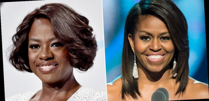 "Michelle Obama Gives Viola Davis Her Seal of Approval to Play Her: ""I'm Not Worthy"""
