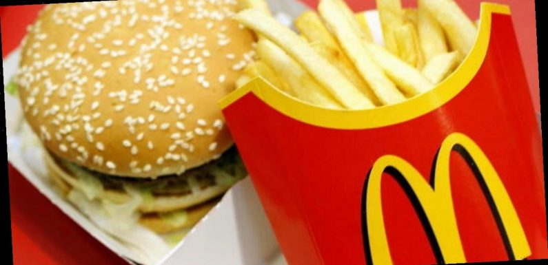 Bride splits opinion by serving McDonald's Big Macs and pizza at her wedding