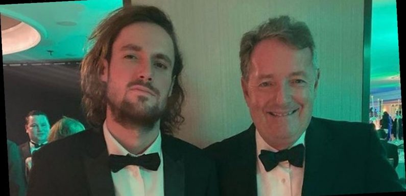 Piers Morgan's son says he and his dad were called 'revolting' by a 'woke Karen'